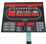 Star Trac E Series Treadmill  Stick On  Overlay Keypad Assy