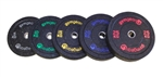 Black Rubber Bumper Olympic Plates 5kg to 25kg