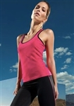 Gym TriDri Ladies Fitness Vest  Printed with your message or Logo