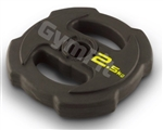 GymFit Studio Rubber Disc 30mm 2.5kg