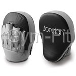 Curved Focus Mitt Leather Pair