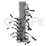 Attachment Rack (silver)  WITH 15 Attachments included