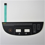 Precor P80 Treadmill Lower Overlay Keypad