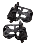 Indoor Cycle Pedal Set. Standard Toe Cage  & Strap only