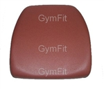 Technogym Selection Line Back Pad Burgundy for fitted to list see below