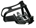 SPD Pedal Set with  Toe Cages & Straps, 9/16