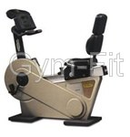 Technogym XT Pro 600 Recline Exercise Bike  Re-Manufactured