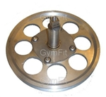 UIC & Inferno Indoor Cycle Crank Shaft & Pulley Wheel
