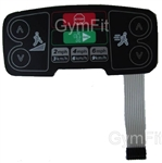 Life Fitness 95T Inspire Engage 95T Lower Display Keypad Overlay