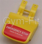 Johnson Treadmill Model T8000 Emergency Stop Button