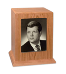 Photo Urn 5x7 Cherry Wood - FS