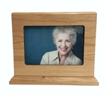 Photo Urn 4x6 Cherry Wood - FS