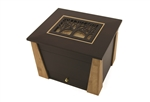 Memento Chest Craftsman Walnut & Blonde MDF - FS - OUT OF STOCK DUE TO COVID-19. ZERO LEFT