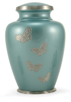 Andover Teal Butterfly - FS -OUT OF STOCK.  ETA(5/1/21)
