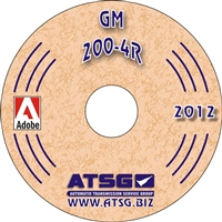 ATSG CDROM Manual for 1980-89 Chevy/GM 200-4R Transmission