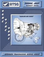ATSG Manual for 1996-up Chrysler electronic TFOD 46RE, 47RE, 48RE