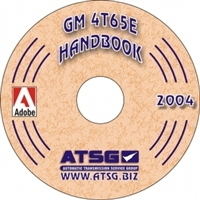 ATSG Update Supplement CDROM for Chevy/GM 4T65E Transaxle Rebuild Manual