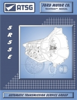 ATSG Manual for 1997-up Ford 5R55E electronic 5spd automatic Transmission