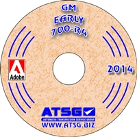 ATSG CDROM Manual for 1982-86 Chevy/GM 700-R4 Transmission