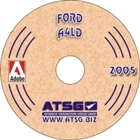ATSG Manual on CDROM for Ford A4LD overdrive Transmission