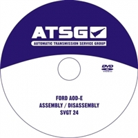 Rebuild DVD, Book/Manual - Ford AODE/4R70W Trans