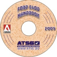 ATSG Update Supplement CDROM for Ford E4OD Transmission Rebuild Manual