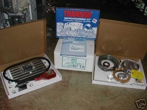 HD Upgrade Package - 1989-95 Ford E4OD Transmission behind small block gas  engine