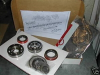 Rebuild Kit with synchro rings - 1965-85 Ford toploader 4 speed car Transmission RUG/HEH