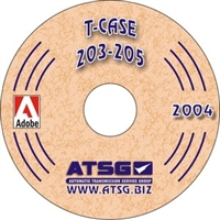 ATSG CDROM Manual for NP203/NP205 Transfer Case 1969-up
