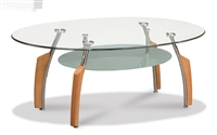 Glass top Round Occasional / Coffee Table 138