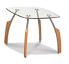 Glass top Round Occasional / End Table 138 End Table