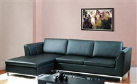 3570-LFC-BLK Monaco Sectional - Black