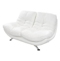 3850-2S-WHT Gramercy 2 Seater Loveseat - White