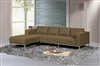 3920-LFC-GY Dresden Sectional Sofa, Left Facing Chaise, Grey
