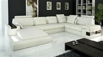 Modern Italian Leather Sectional Sofa CP-1692-HL