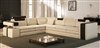 Vista Modern Italian Design Leather Sectional Sofa CP-9001