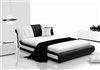 Contemporary Italian Design Platform Curved Bed CP-B1104