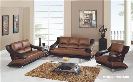 Urban Design Global Furniture 982-T/BR-S Living Room Set