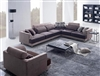 Beige Fabric Sectional Sofa TOS-ANM313-39