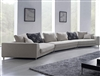 Contemporary Grey Large Size Fabric Sofa TOS-ANM9721