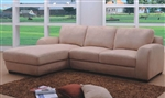 Modern Champagne Fabric Sectional Sofa TOS-BVT-B2104