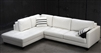 White Leather Sectional Sofa TOS-FY762-2