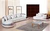 Modern White Sectional Sofa TOS-LF-105-CHSE