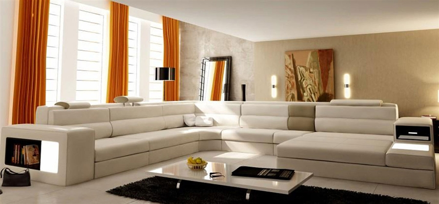 Modern Sectional Sofa For List Price 375000 Modern Italian Design Sectional Sofa Toslf2205