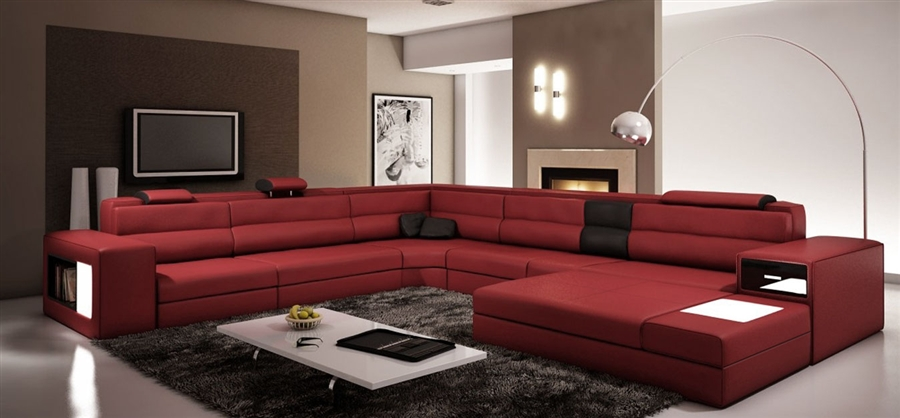 Modern Italian Design Sectional Sofa