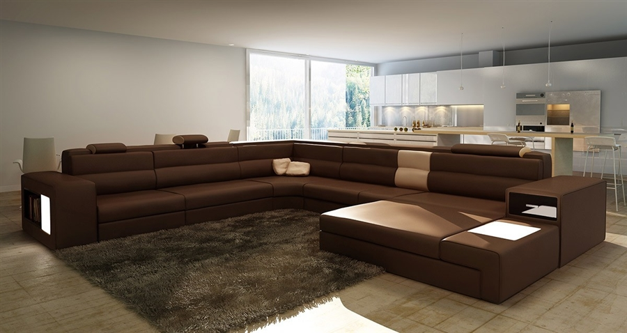 Modern Italian Design Sectional Sofa Tos Lf 2205 Bc