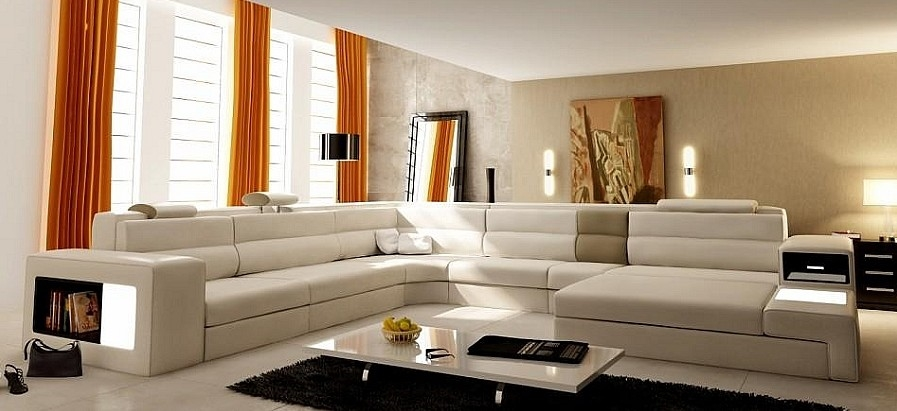 Modern Italian Design Sectional Sofa Tos Lf 2205 Cb