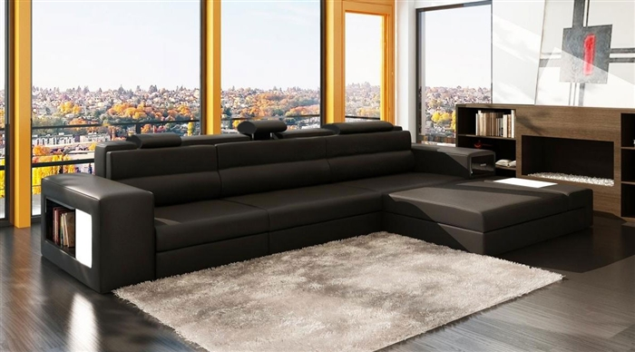 Modern Italian Design Sectional Sofa Lf 2205 Mc