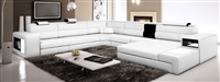Modern Italian Design Sectional Sofa  TOS-LF-2205-IVORY