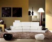 Modern White Sectional Sofa Furniture TOS-LF-4006-WH